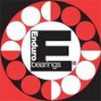 Enduro Bearings 6001 2RS ABEC 3 Lager, 12 x 28 x 8
