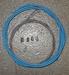Shimano Remkabel Set MTB Blauw