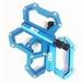 Platform Pedaal Super Duper CNC Blauw