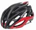 Helm Giro Race Atmos Zwart Rood Maat S 51-55 -50%