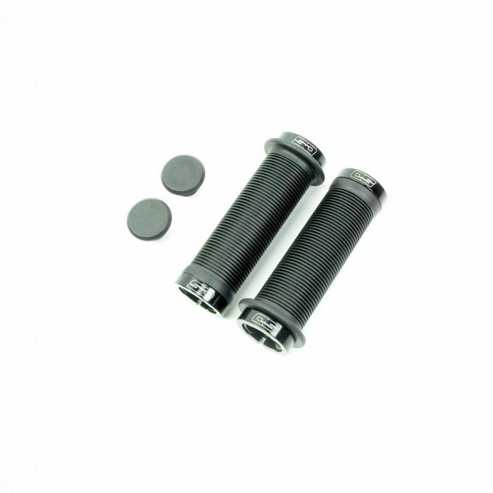 BMX Handvat Super Duper Lock On Zwart 115mm