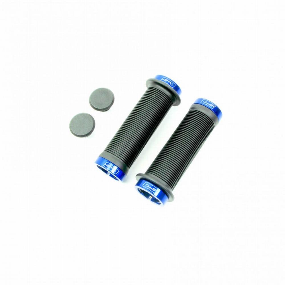 BMX Handvat Super Duper Lock On Blauw 115mm