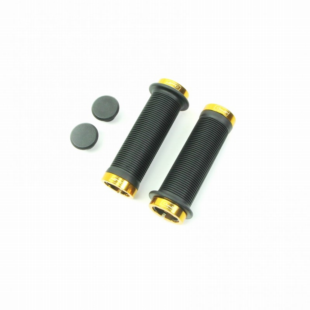 BMX Handvat Super Duper Lock On Goud 115mm