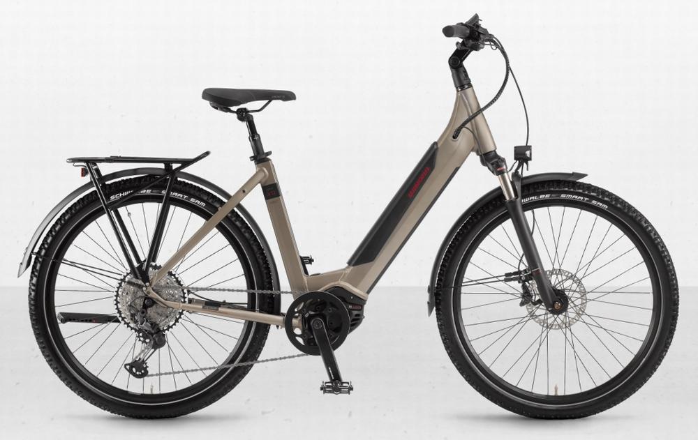 Winora E-Bike Sinus iX12 Dame i500Wh 27,5