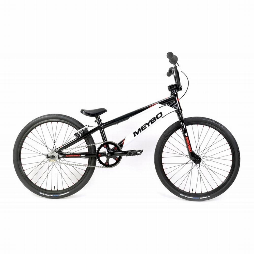BMX Bike Meybo TLNT Expert Zwart-Wit-Rood