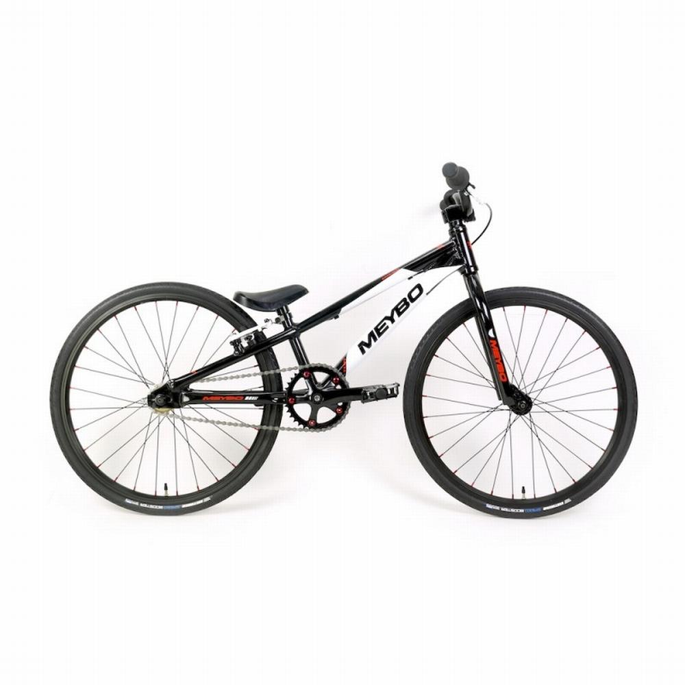 BMX Bike Meybo TLNT Mini  Zwart-Wit-Rood