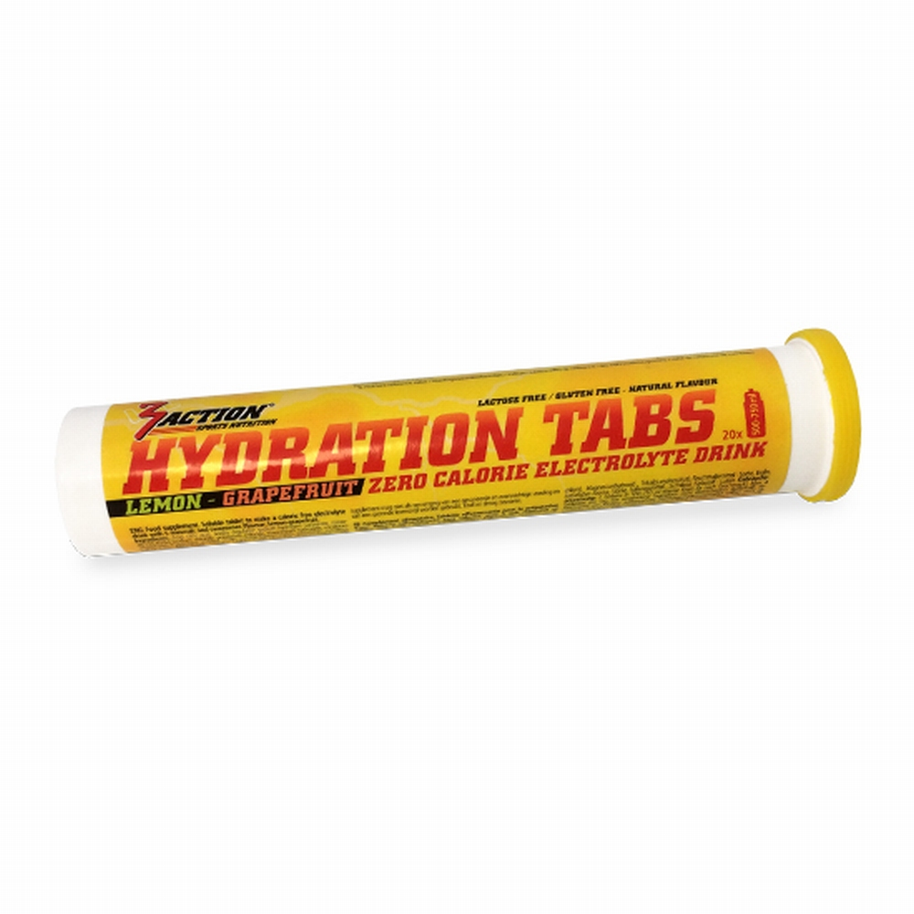 3 ACTION hydration tabs Orange