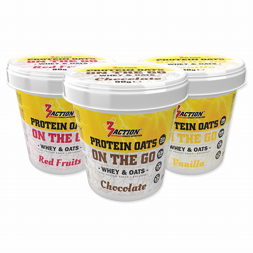 3 Action Protein OAT Rode Vrucht 90 Gram