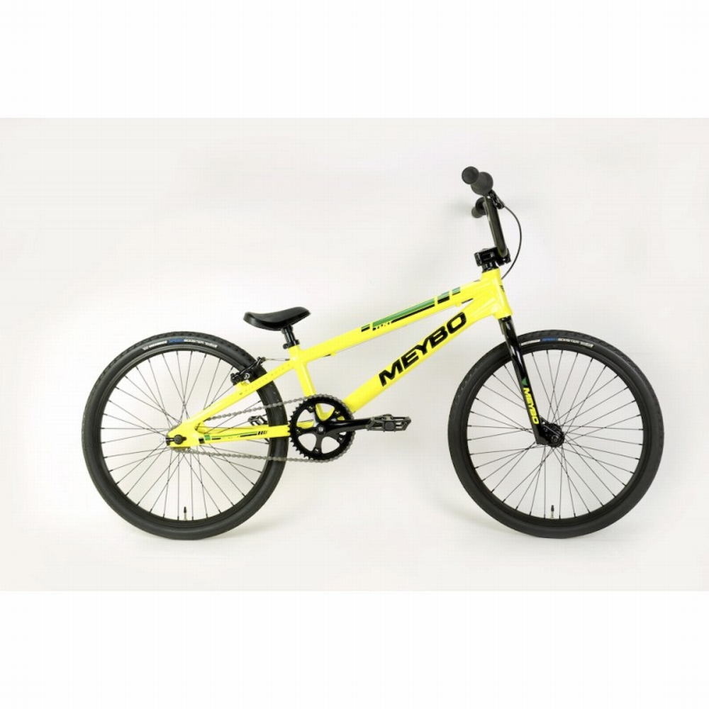 BMX Bike Meybo TLNT Expert XL Citrus/Black/Green
