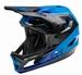 Fly Full Face Rayce 2021 Helmet Bleu - Black