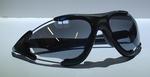 Opruim Bril Shimano S70X Zwart