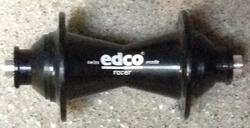 Opruim Voor Naaf Race Edco Zwart 28 spaken